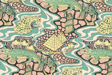 Egypt pattern