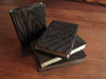 "Pocket Books, 2011.  Douglas Fir,  4"" x 3"" x 3/4"" each"